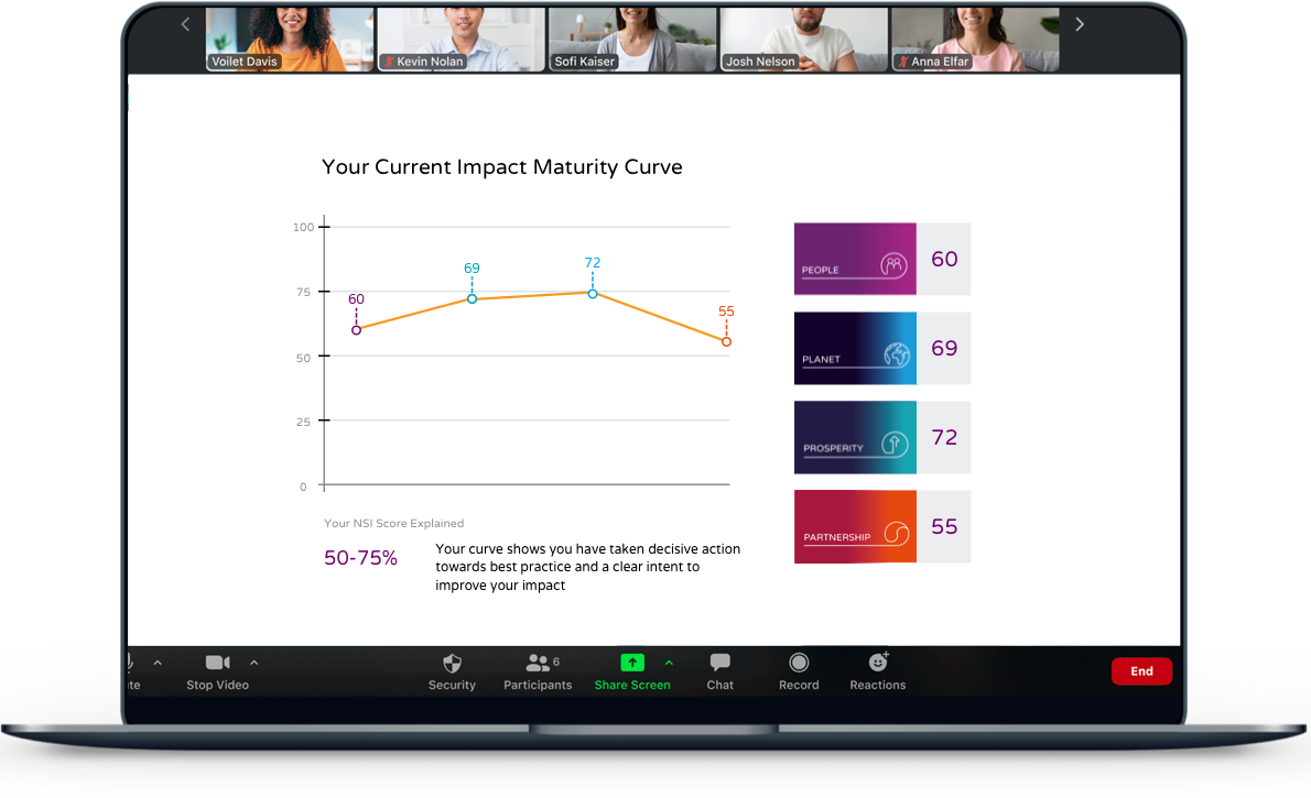 Impact Masterclass NSI laptop