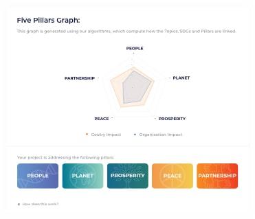 5 Pillar Graph